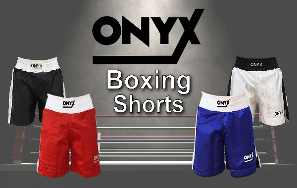 Onyx Boxing Shorts