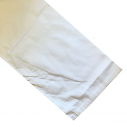 White Polycotton Trousers