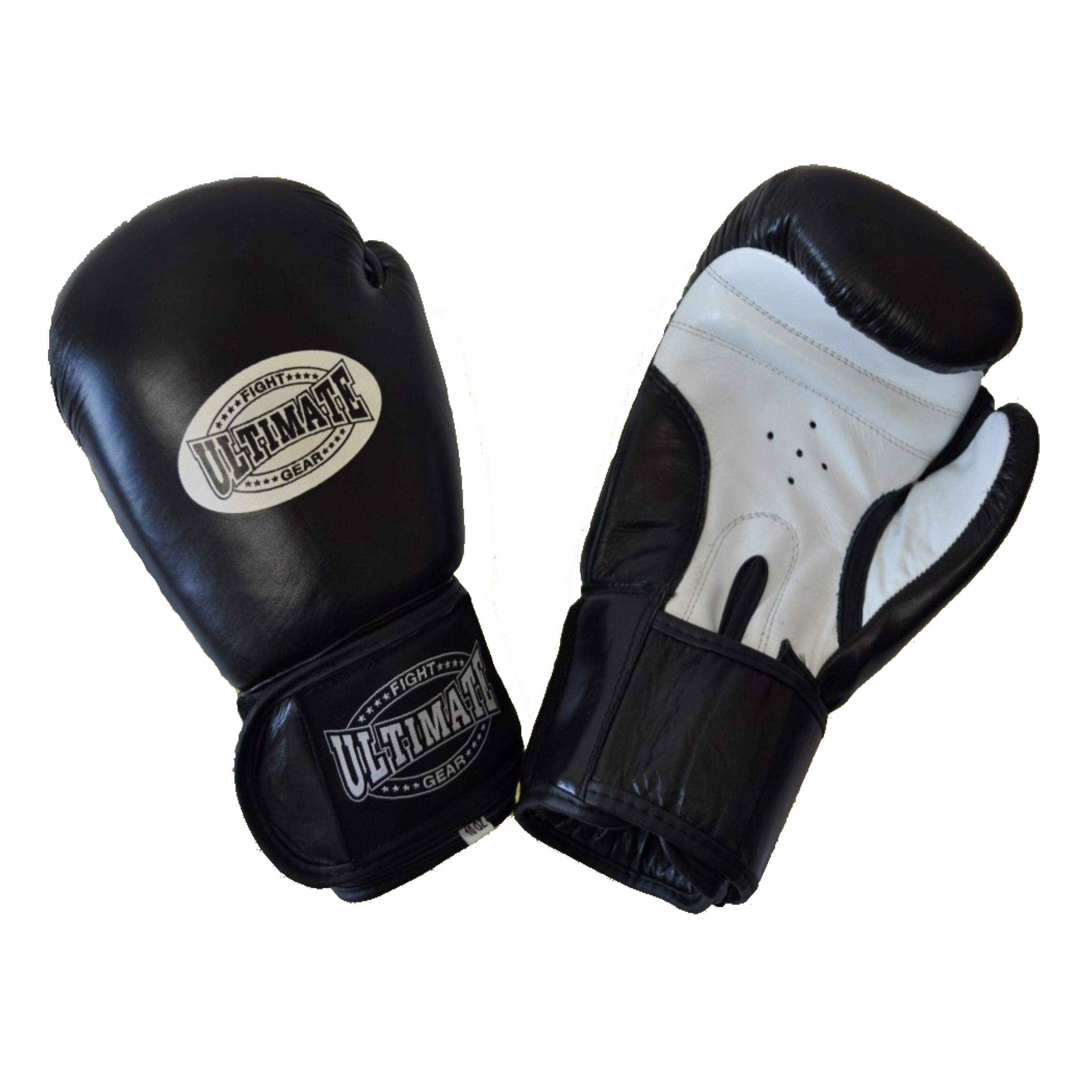 Ultimate Fight Gear Leather Boxing Gloves