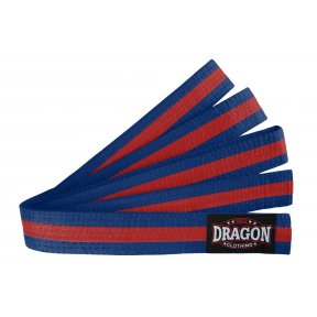 Coloured Stripe Belt