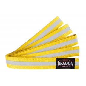 Coloured Belt - White Stripe
