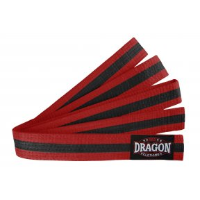 Coloured Belt - Black Stripe