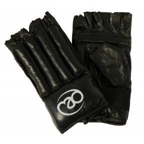 Fitness Mad - Leather Fingerless Gloves